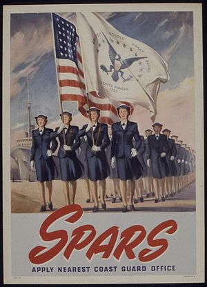 SPARS - SPARS recruiting poster during World War II