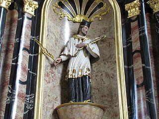 Sacré-Cœur, Saint-Jean Népomucène, Saint-Antoine de Padoue, Saint-Sébastien