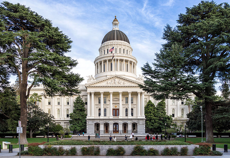 It's a nod to Sacramento's role as the U.S.' de facto privacy regulator Andre m,Sacramento,-California---State-Capitol,CC BY-SA 3.0