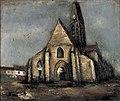 Saeki Yuzo - Church/Alley in Paris - Google Art Project.jpg