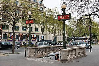 Paris Métro Line 13 rapid transit line in Paris, France