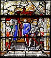 Saint-Lô Église Notre-Dame Vitrail Baie 17 Jugement de saint Sébastian 2019 08 19.jpg