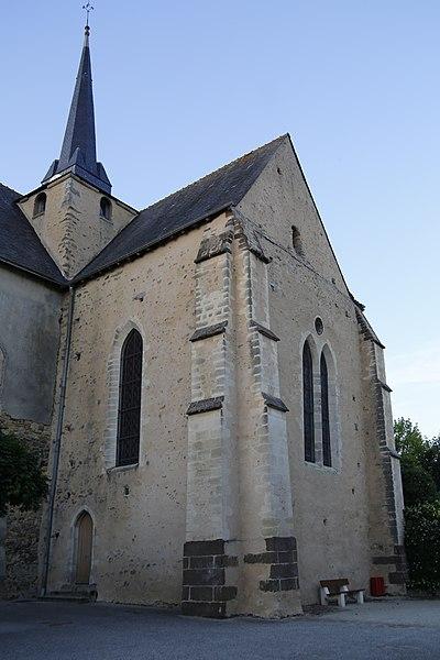 Fr:Église Saint-Médard de Saint-Mars-sous-Ballon: transept sud.