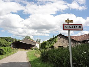 Saint-Martin (M-et-M) city limit sign.jpg
