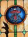 Saint Aloysius Catholic Church (Shandon, Ohio) - stained glass, instruments of Christ's Passion.jpg