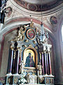 Saint Andrew church in Łęczyca - Interior - 02.jpg