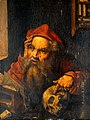 Saint Jerome in his study. Oil painting by a follower of Alb Wellcome V0017321.jpg