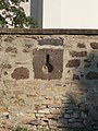 Saint John the Evangelist Church. Listed 5695. Outer wall. 'Keyholes'. - Gyöngyös.JPG