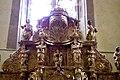 Sainte-Colome, Pyrénées atlantiques, église Saint-Sylvestre, retable du maitre autel IMGP0792.jpg