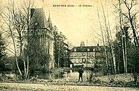 Saintines (60), donjon et château.jpg