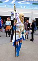 Sakurai.Sc as Lancer Miru, Knights of Girls at FF25 20150131.jpg
