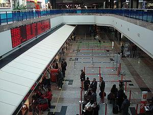 Salgado Filho International Airport - Check-in.