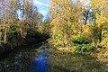 Saline River from Bridge on Petersburg Road, Facing West, York Township, Michigan - panoramio.jpg