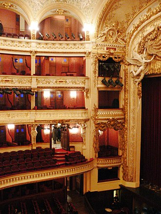 Opéra-Comique - Interior of the Salle Favart, 2008