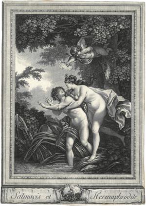 Salmacis - Image: Salmacis & Hermaphrodite