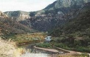 Apache Wars - The Salt River Canyon.