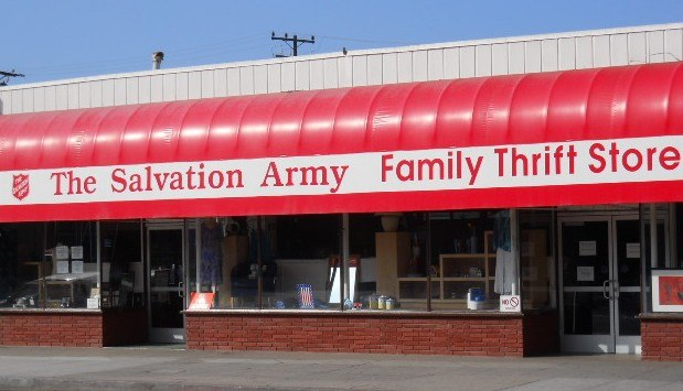 Salvation Army Thrift Store, Santa Monica, CA