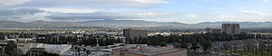 Panorama (5 photographs) of the San Fernando V...