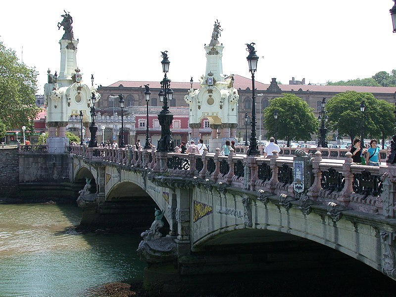 San Sebastián. Puente de María Cristina.