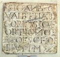 San firenze, lapide giovanni gualberto, 1425.JPG