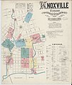 Sanborn Fire Insurance Map from Knoxville, Knox County, Tennessee. LOC sanborn08331 001-1.jpg