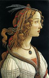 Sandro Botticelli: Portrait of a Young Woman