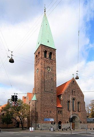 St. Andrew's Church, Copenhagen - Image: Sankt Andreas Kirke København SO