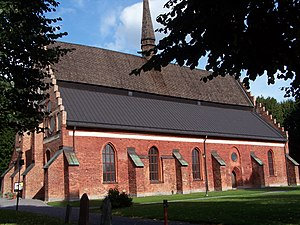 Söderköping - The Church of St. Lawrence is one of two remaining medieval churches in Söderköping, and was the venue for two royal coronations during the Middle Ages.