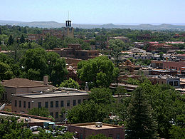 Santa Fe's Downtown Area
