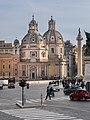 Santa Maria of Loreto church and Holy Name of Mary church in Rome (3).jpg