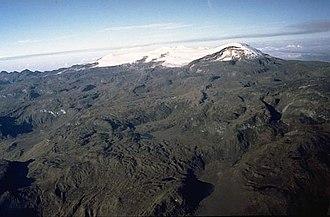 Santa Isabel (volcano) - Santa Isabel in 1985