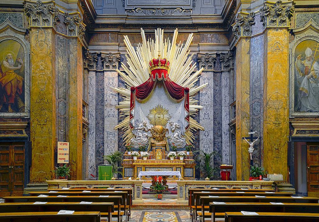 Kuvahaun tulos haulle chiesa dei santi claudio e andrea dei borgognoni roma