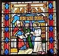Sarlat Kathedrale - Fenster 2a Sacerdos.jpg