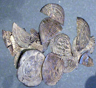 Sundveda Hoard - Silver coins from the Sundveda Hoard