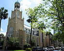 Savannah GA USA Congregation Mickve Israel side.JPG
