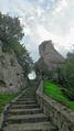 Scala per raggiungere il Castello di Pietrapertosa.png