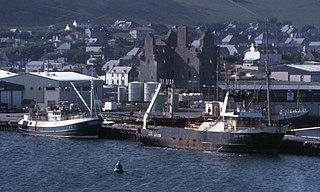 Scalloway Human settlement in Scotland