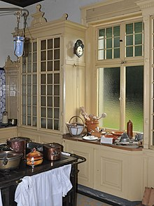 Küche Im Originalzustand Des In Den Jahren 1861 Bis 1863 Erbauten Schlosses  Hünegg