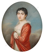 Die Tochter Rebeka Caroline (1788–1836) (Quelle: Wikimedia)