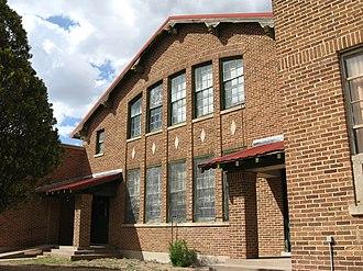 Nara Visa School - Main building at Nara Visa School