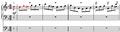 Schumann, Sechs Fugen for organ, op. 60, no. 5, mm. 1-4.png