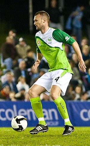 Scott Wilson (footballer, born 1977) - Wilson playing for North Queensland Fury