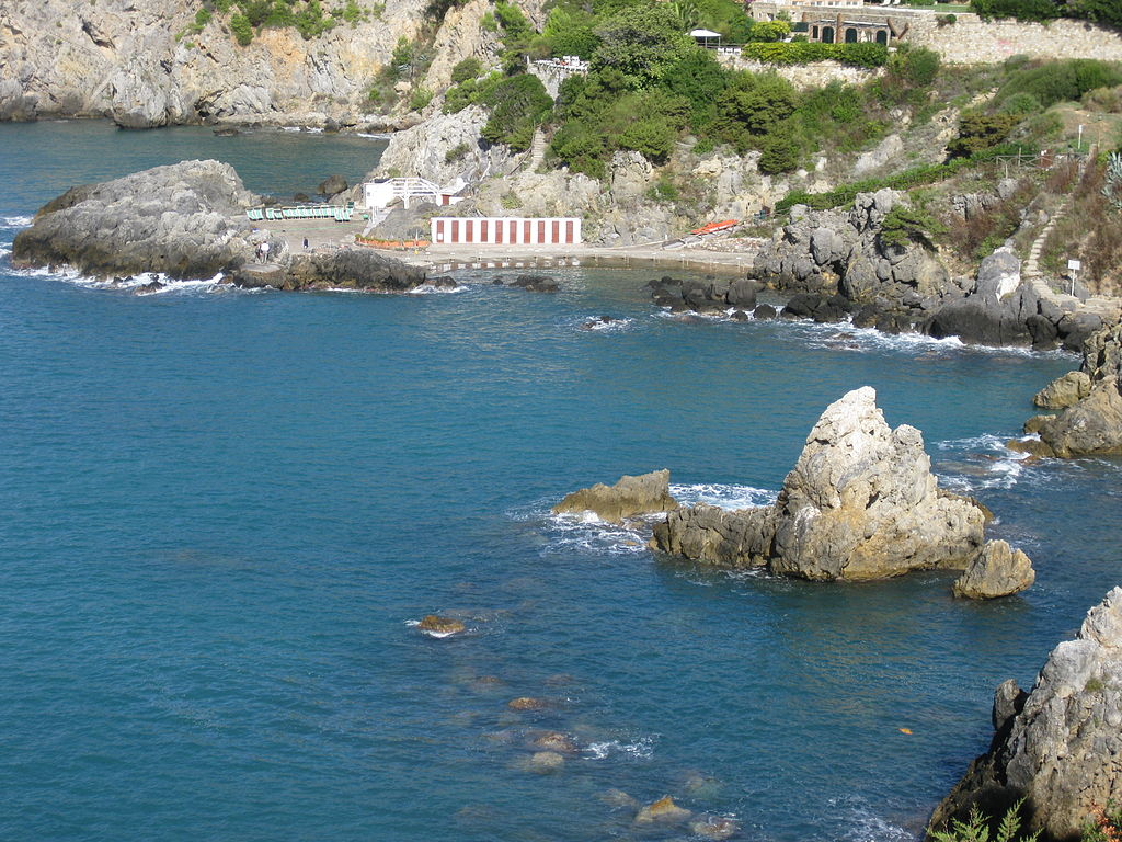 La scogliera 'spiaggia delle Donne), Talamone