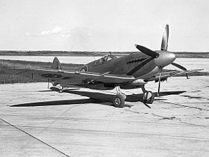 Supermarine Seafire - A Seafire XV in Royal Canadian Navy service