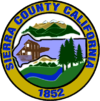 Official seal of Sierra County, California