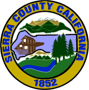Sierra County, California - Image: Seal of Sierra County, California