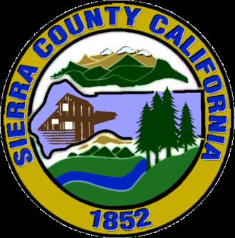 Sierra County, California - Image: Seal of Sierra County, California