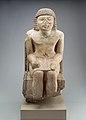 Seated Statue of the Nomarch Idu II of Dendera MET 98.4.9 EGDP019057.jpg
