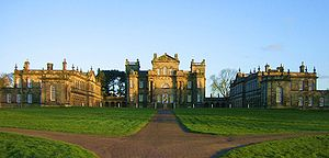Seaton Delaval Hall - Image: Seaton Delaval Hall all from N