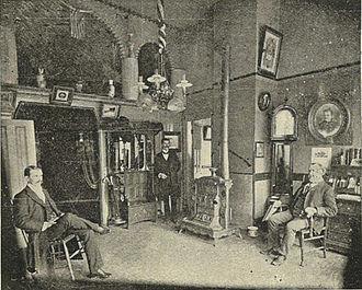 Funeral home - Image: Seattle Butterworth funeral home office 1900